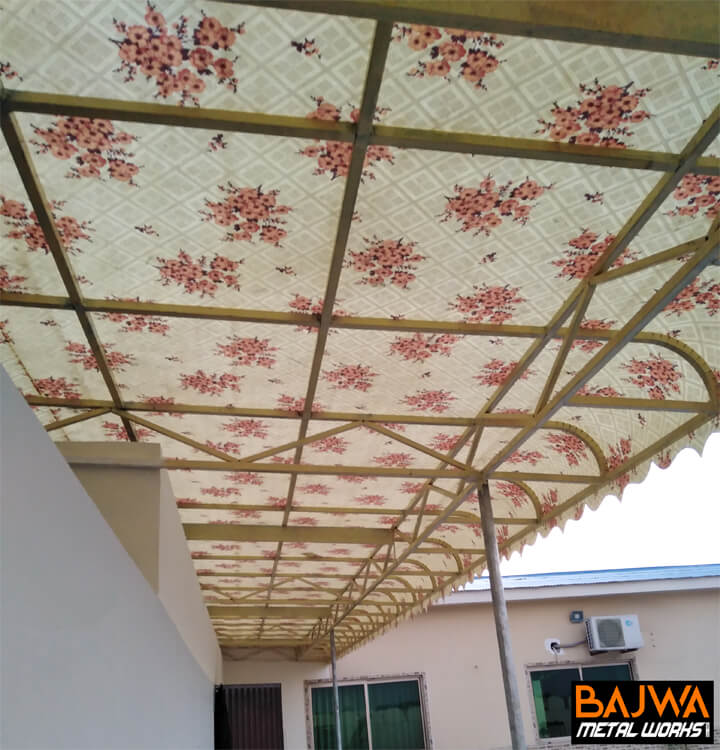 Fancy fiberglass canopy awning shade