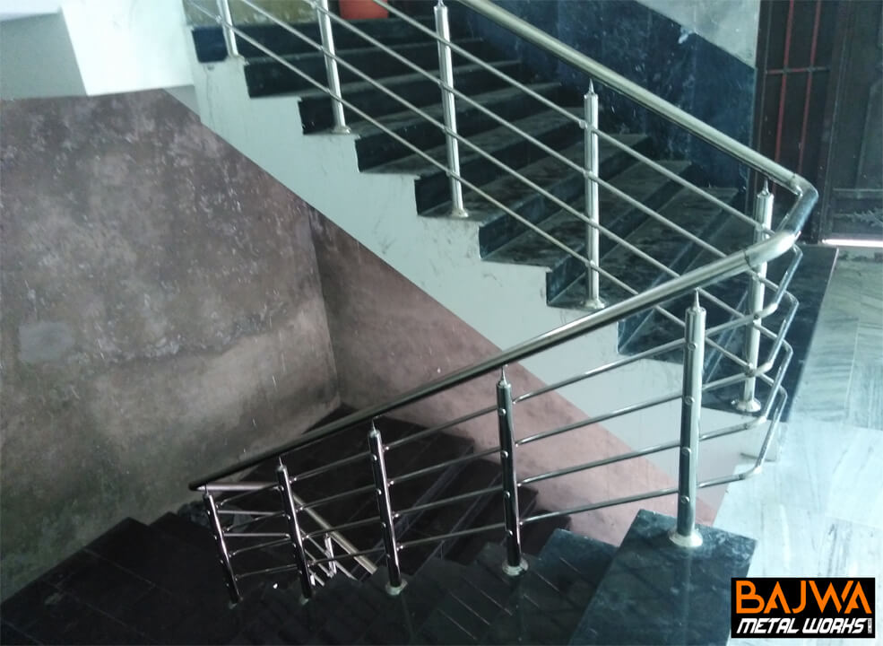 Fancy staircase railing