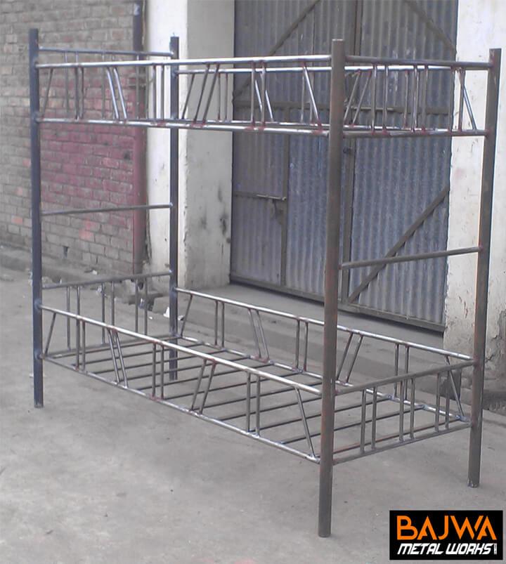 Fancy steel bunker bed design for hostels in pakistan