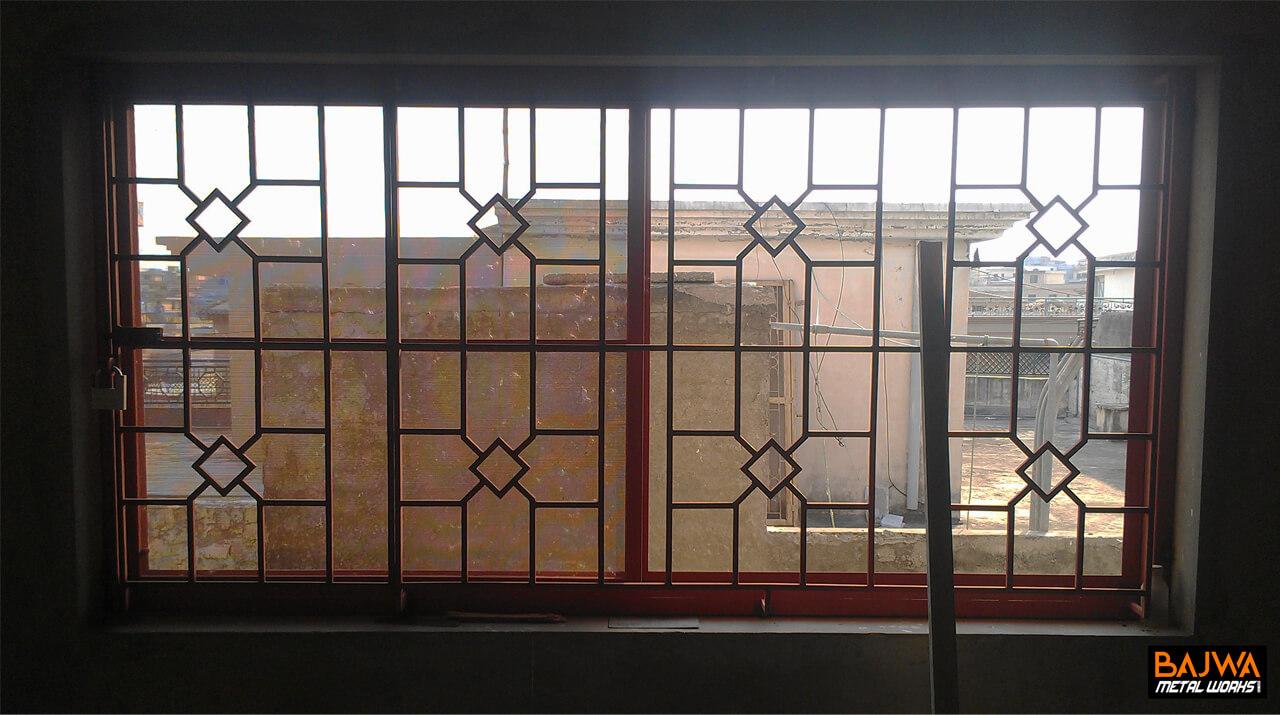 Fancy steel window design