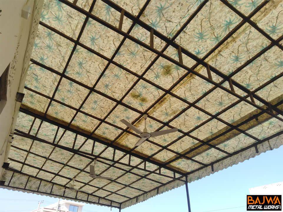 Fiberglass patio canopy awning