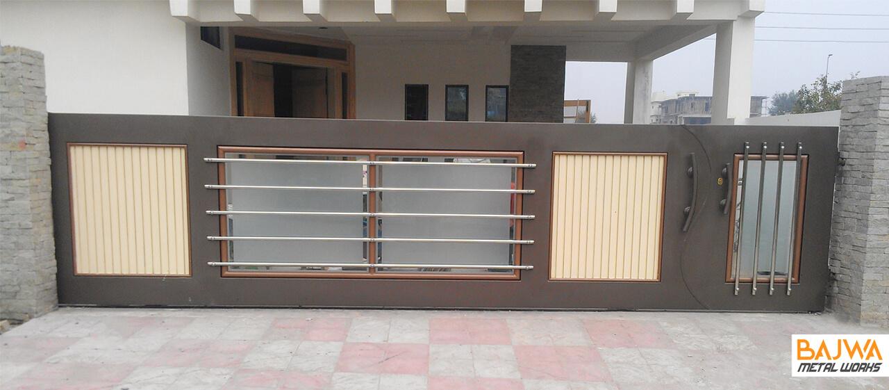 Home entrance gate design