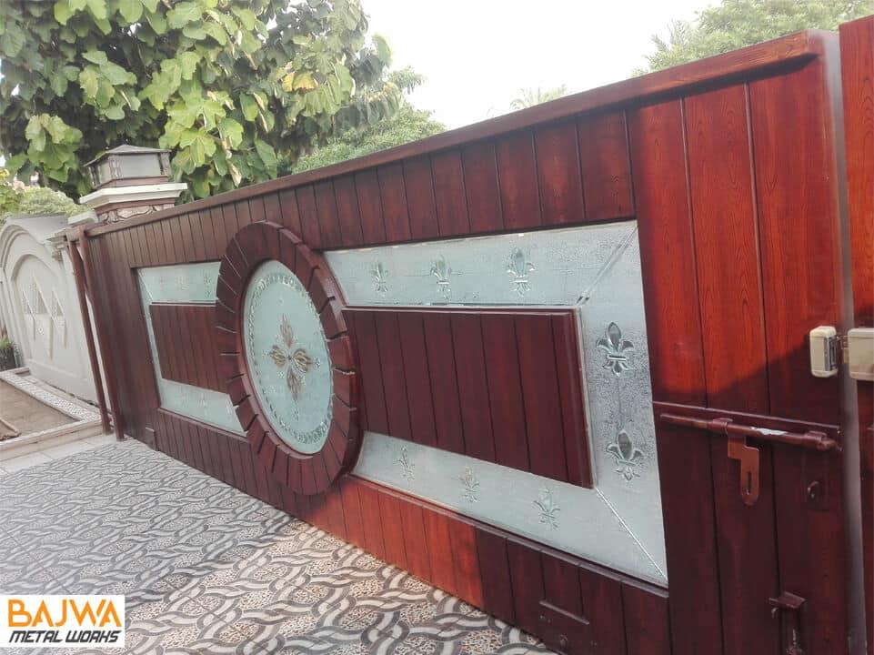 House main entrance gate
