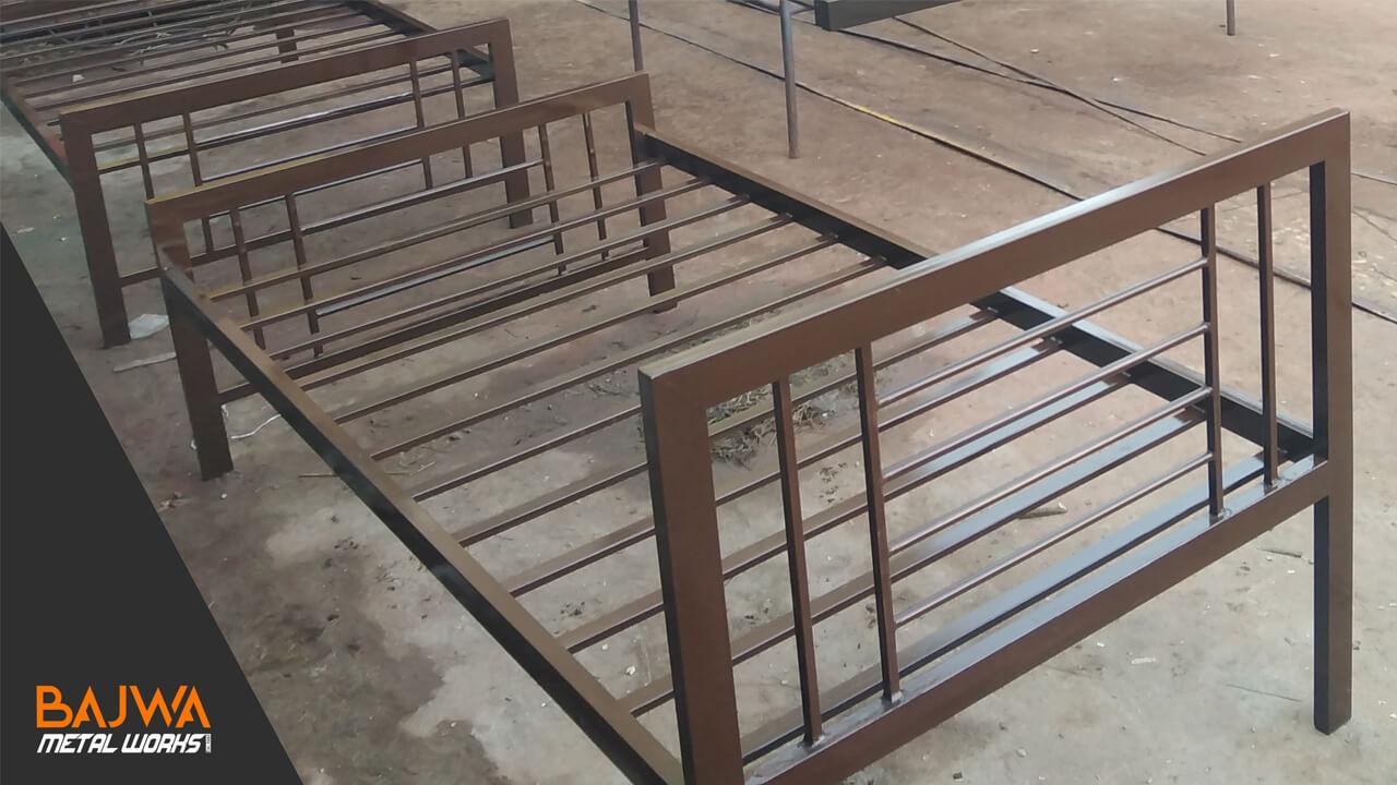 Metal iron single beds in Islamabad Pakistan