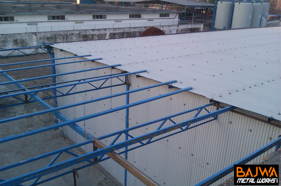 Steel roof shed designs