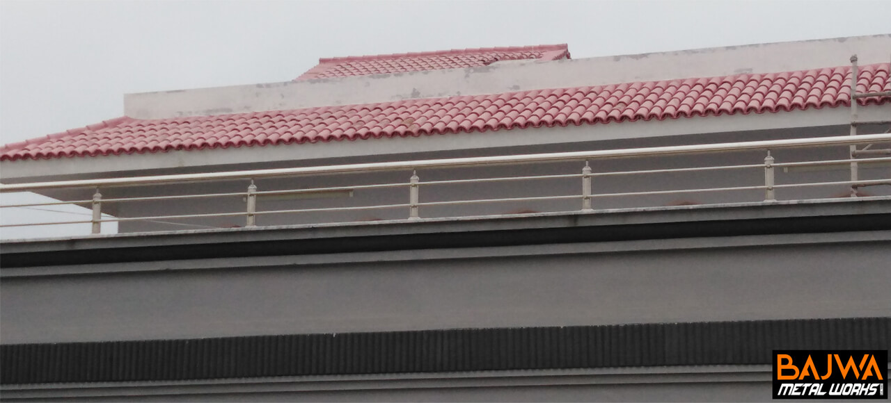 modern terrace balcony railing grill