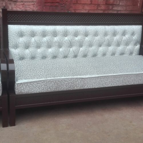 Brown Steel sofa set islamabad Pakistan