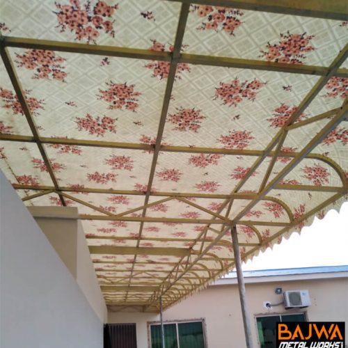 Fancy fiberglass canopy awning shade