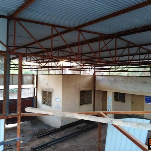 Steel structure shed design